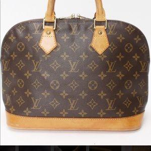 Louis Vuitton Alma Bag-Satchel Monogram